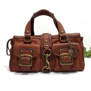 Vintage Coach Legacy Mandy Leather Satchel Bag